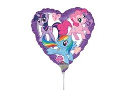 Balon foliowy do patyka My Little Pony - 23 cm - 1 szt.