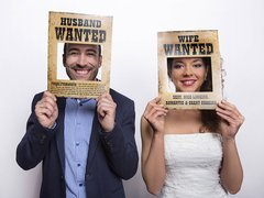 Foto rekwizyty Husband Wanted/Wife Wanted - 2 elem.