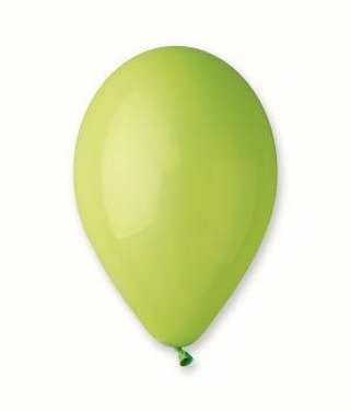 Balony lateksowe małe - 5 cali - apple green - 50 szt.