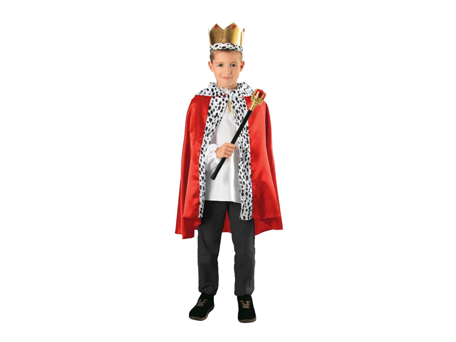 1799491dc31917 Strój króla na jasełka - peleryna, korona, berło