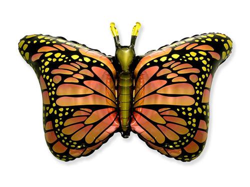 Balon foliowy Motylek pomarańczowy - 1 szt.
