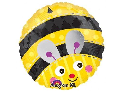 Balon foliowy Pszczółka - 43 cm - 1 szt.