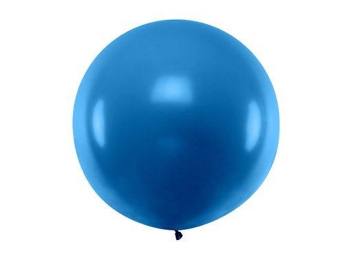 Balon olbrzym 1 m średnicy - granatowy pastel.