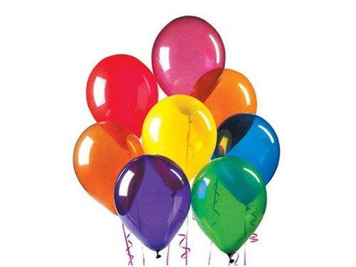 Balony CRYSTALLIC - duże - mix kolorów - 100 szt.