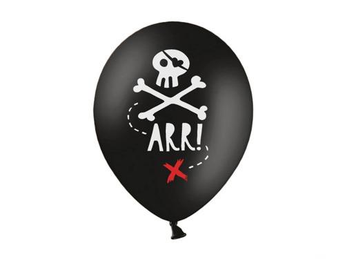 Balony urodzinowe Piraci- 30 cm - 5 szt.