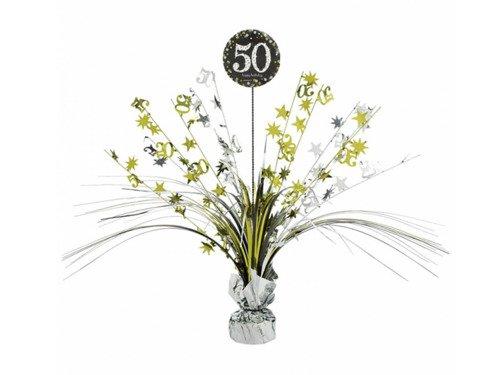 Dekoracja stołu na 50-tke - 33 cm - 1 szt.