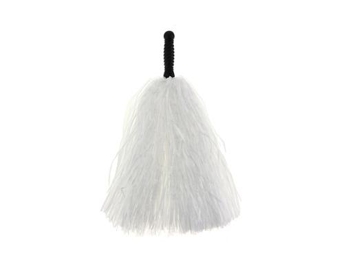 Pompony cheerleaderki białe - 1 szt.