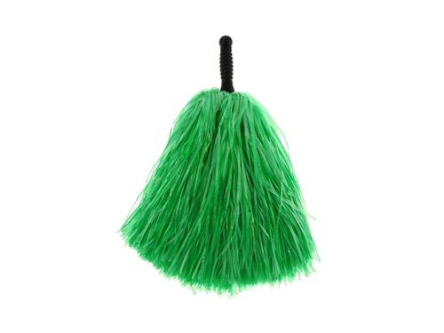 Pompony cheerleaderki zielone - 1 szt.