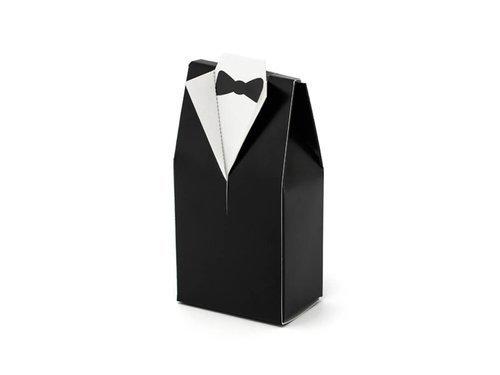 Pudełeczka dla gości weselnych - frak - 10 szt.