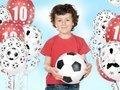 Balony z nadrukiem Piłkarz i Piłki Nożne 14 cali - 5 szt.