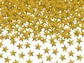 Konfetti złote gwiazdki - 30 g