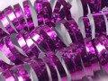 Serpentyna holograficzna - różowa - 18 szt.