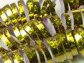 Serpentyna holograficzna - złota - 18 szt.