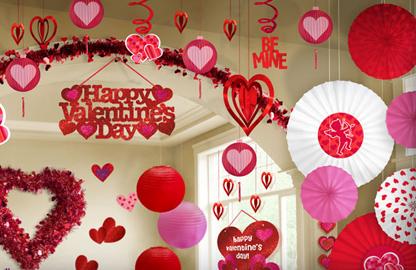 Dekoracje Na Walentynki Dekoracje Walentynkowe
