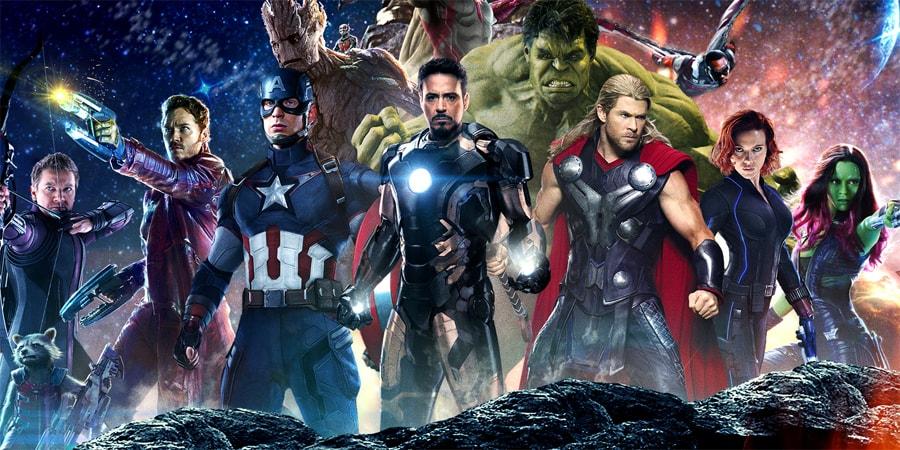 Przyjęcie Avengers