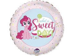 Balon foliowy My little Pony Sweet Day - 47 cm - 1 szt