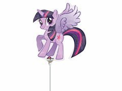 Balon foliowy do patyka My Little Pony - 31 cm - 1 szt