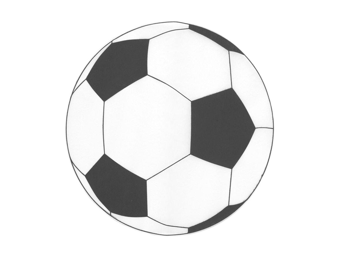 Podstawki pod talerzyki Piłka Nożna - 34 cm - Kod produktu: S3821 ...